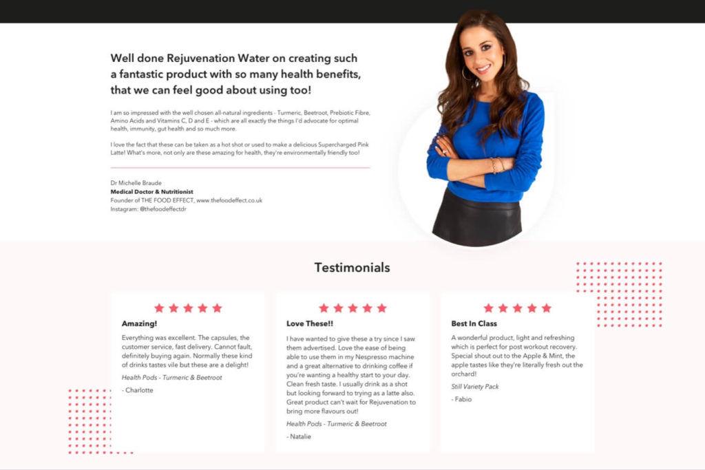 Customer Reviews - UX & UI Design