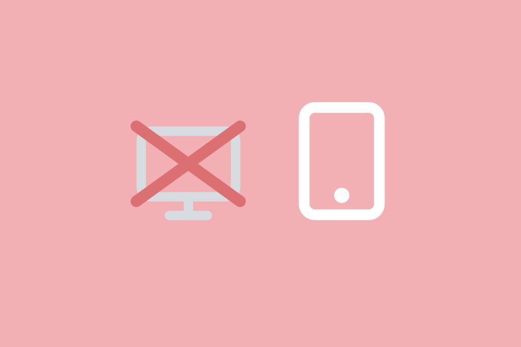 Mobile first icon