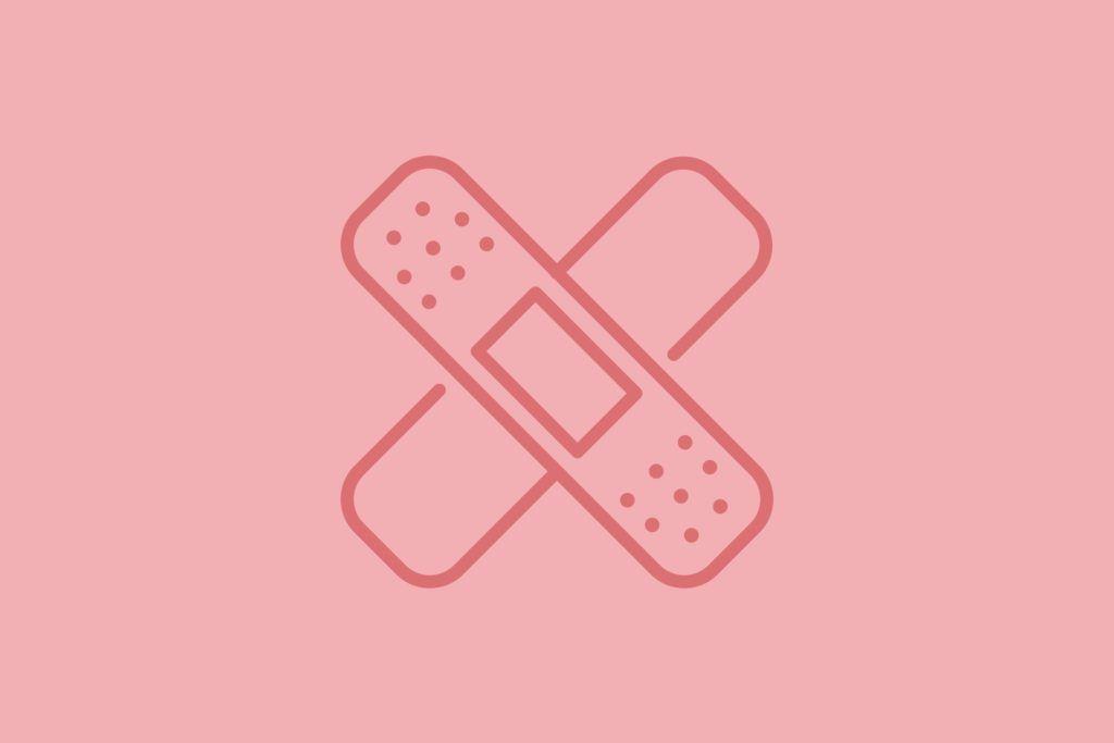 Band aid illustration