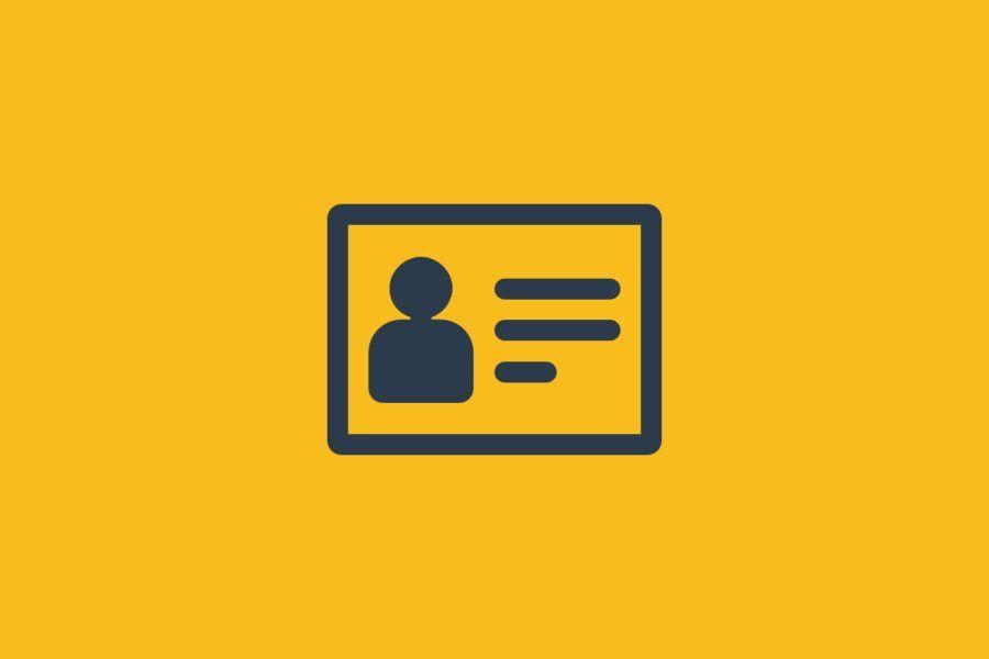 illustration of user profile
