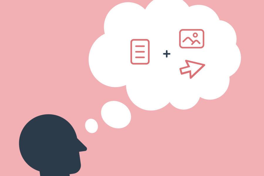 illustration of website design