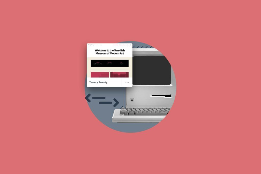 illustration for Website design templates: Should you use them?