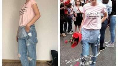 (ФОТО) Девојче од Босна исмеано бидејќи наместо за фустан за матура парите ги дала на деца болни од рак
