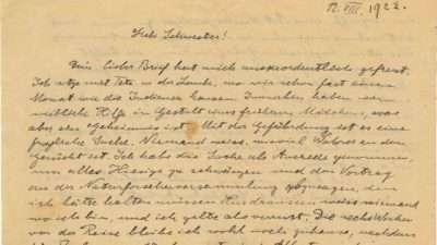 Писмото на Ајнштајн за антисемитизмот продадено за околу 40.000 долари