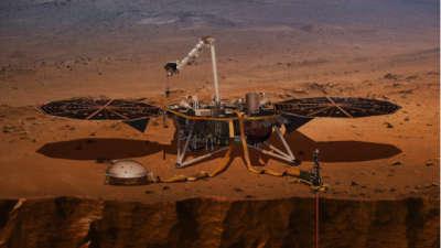 """ФОТО: """"Инсајт"""" ја испрати првата јасна фотографија од Марс"""
