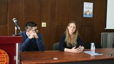 Средба на ректорот Боев со амбасадорката на Обединетото Кралство Рејчел Галовеј
