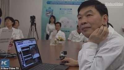 Извршена првата операција на мозок преку 5G на пациент оддалечен 3.000 километри од докторот