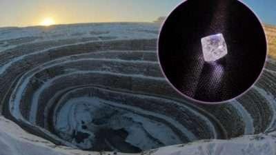 Второ големо откритие за рекордно време! Пронајден дијамант во Русија од 100 карати: Обликот на овој скапоцен камен докажува дека природата е најдобриот јувелир!
