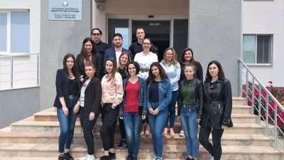 Реализирана практична настава по предметот Форензична психологија во КПУ Затвор Куманово (с. Кшање)