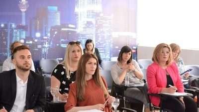 На МСУ се оддржа вториот дел од обуките за Европско финансирање преку Европски програми