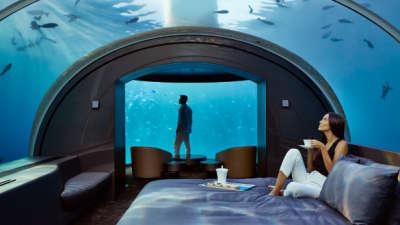На Малдивите се отвори првиот подводен хотел во светот