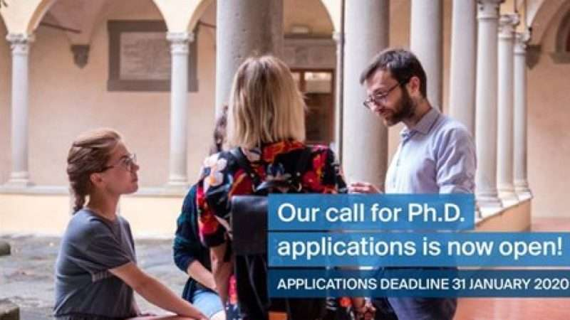 EUI DOCTORAL PROGRAMME 2020 IN FLORENCE, ITALY