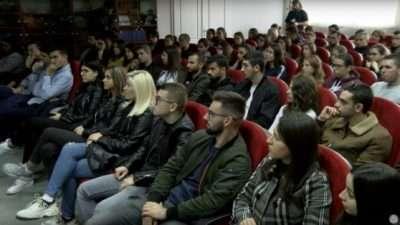 (Видео) Средба на ИТ компании со студентите по информатика