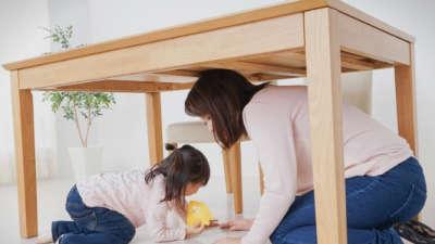 Како да се однесувате со децата во случај на земјотрес?