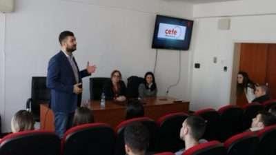 ЦЕФЕ Македонија соработка со Економскиот факултет на УГД