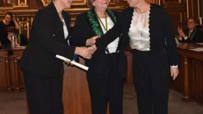 Престижната награда за франкофонија за проф. д-р Емилија Јаневиќ-Ивановска
