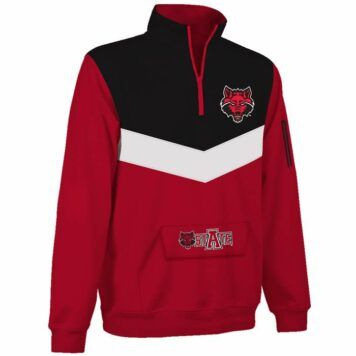 Arkansas State Red Wolves Victory 1/4 Zip Pullover