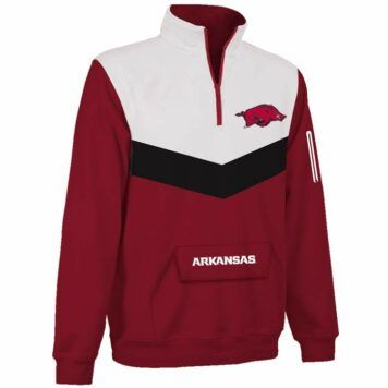 Arkansas Razorbacks Victory 1/4 Zip Pullover