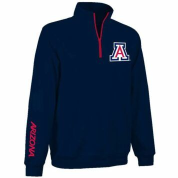 Arizona Wildcats Apex 1/4 Zip Fleece Pullover