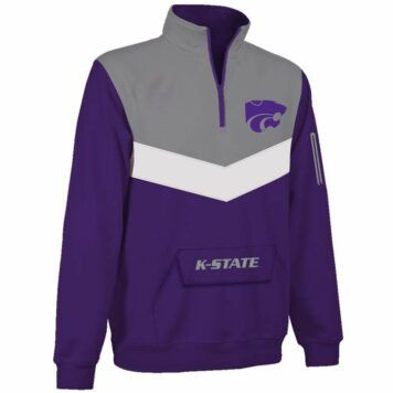 Kansas State Wildcats Victory 1/4 Zip Pullover