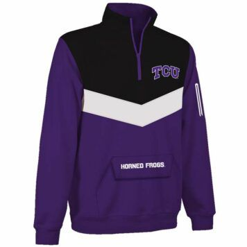 TCU Horned Frogs Victory 1/4 Zip Pullover
