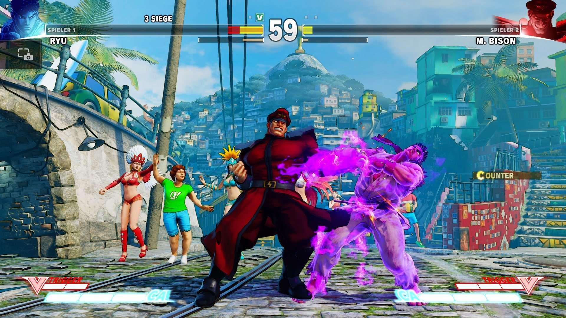 Street Fighter V (PS4) angespielt