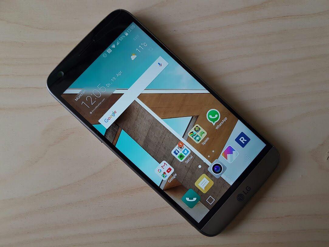 LG G5 Test – OS