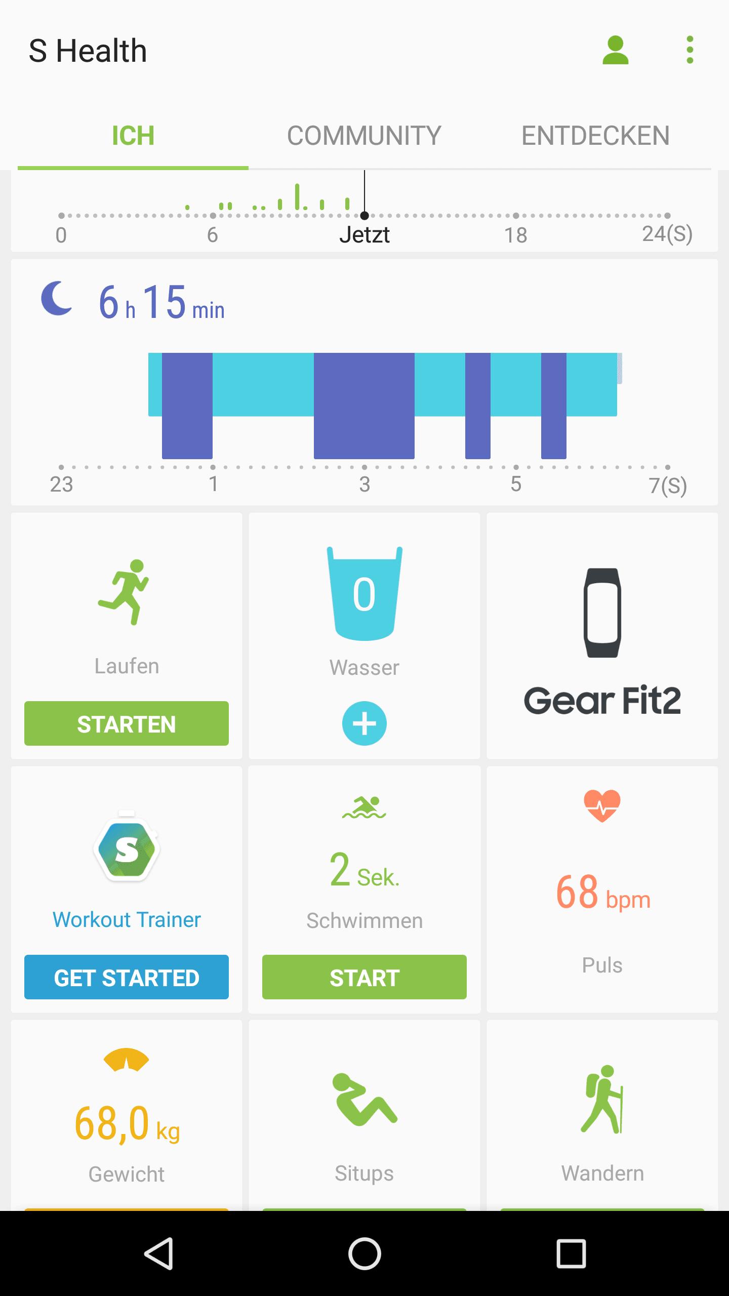 Gear Fit2 Test