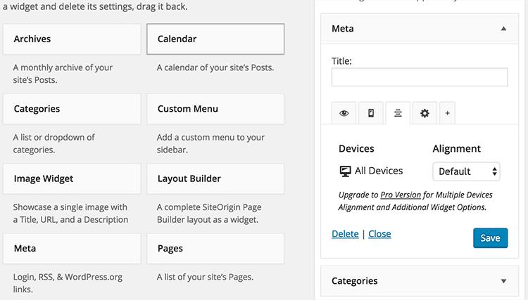 Mehr Kontrolle über WordPress mit Widget Options techboys.de • smarte News, auf den Punkt!