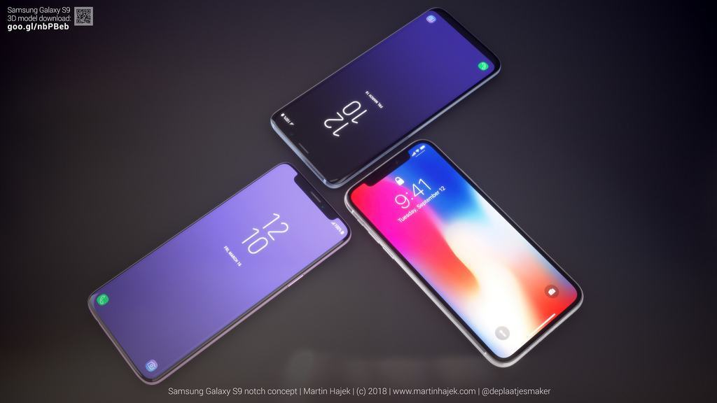 Galaxy S9 N: Der einzige gelungene iPhone X-Klon bleibt Konzept-Studie techboys.de • smarte News, auf den Punkt!
