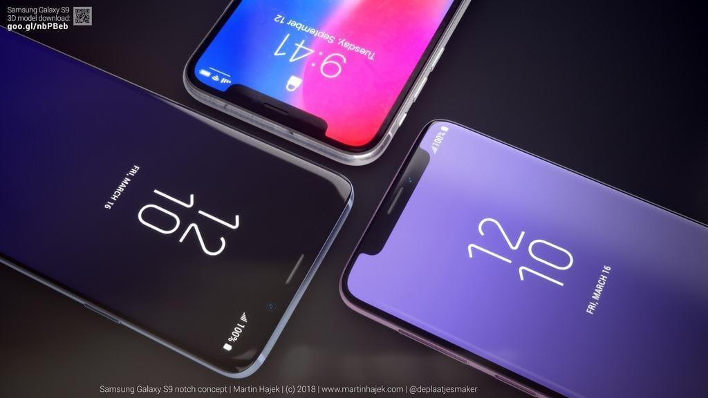 Galaxy S9 Notch: Der einzige gelungene iPhone X-Klon bleibt Konzept-Studie