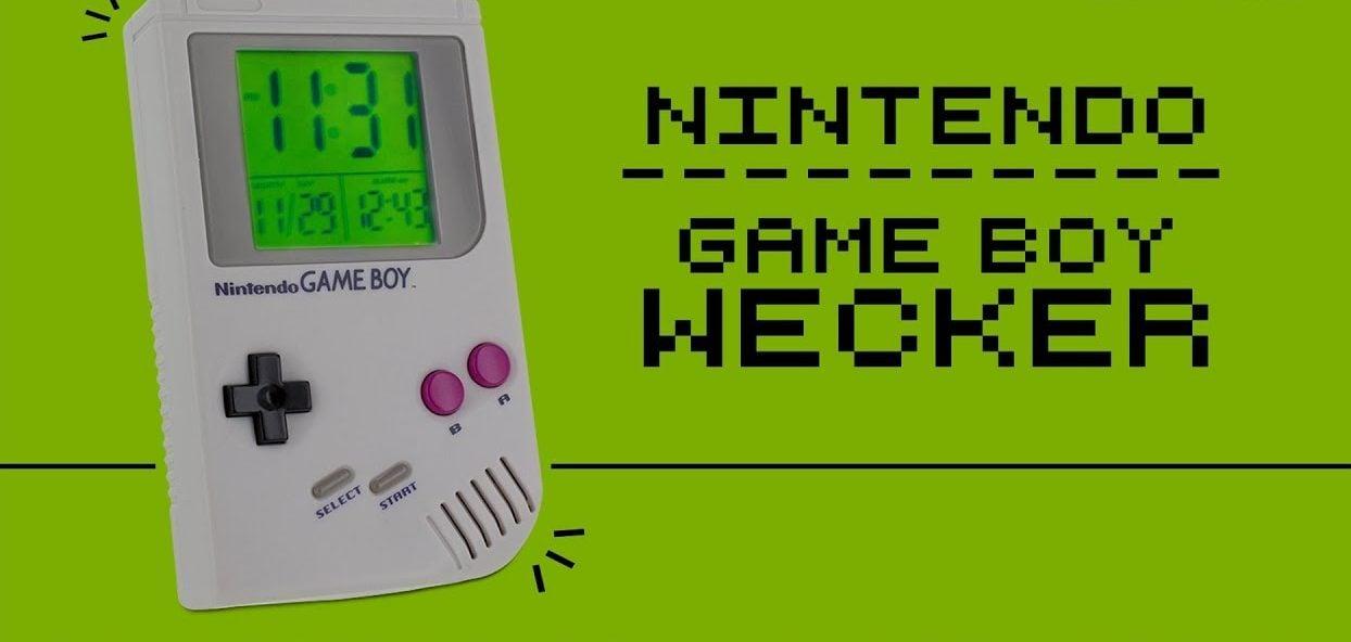 Game Boy Wecker lässt euch den Tag mit Super Mario Sound beginnen techboys.de • smarte News, auf den Punkt!