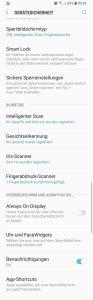 Galaxy S9: Intelligenter Scan