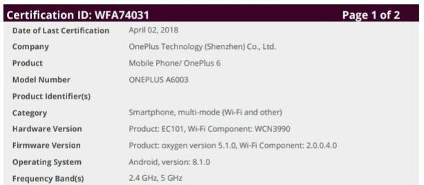 "OnePlus 6 finales Design ""zufällig"" enthüllt techboys.de • smarte News, auf den Punkt!"