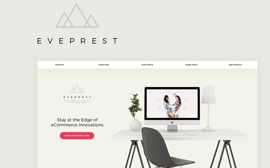 Eveprest - Multifunktionales PrestaShop Theme