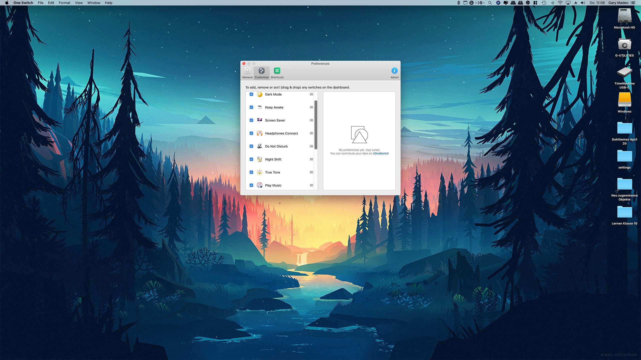 OneSwitch für macOS: Schnellen Zugriff auf wichtige Funktionen erhalten techboys.de • smarte News, auf den Punkt!