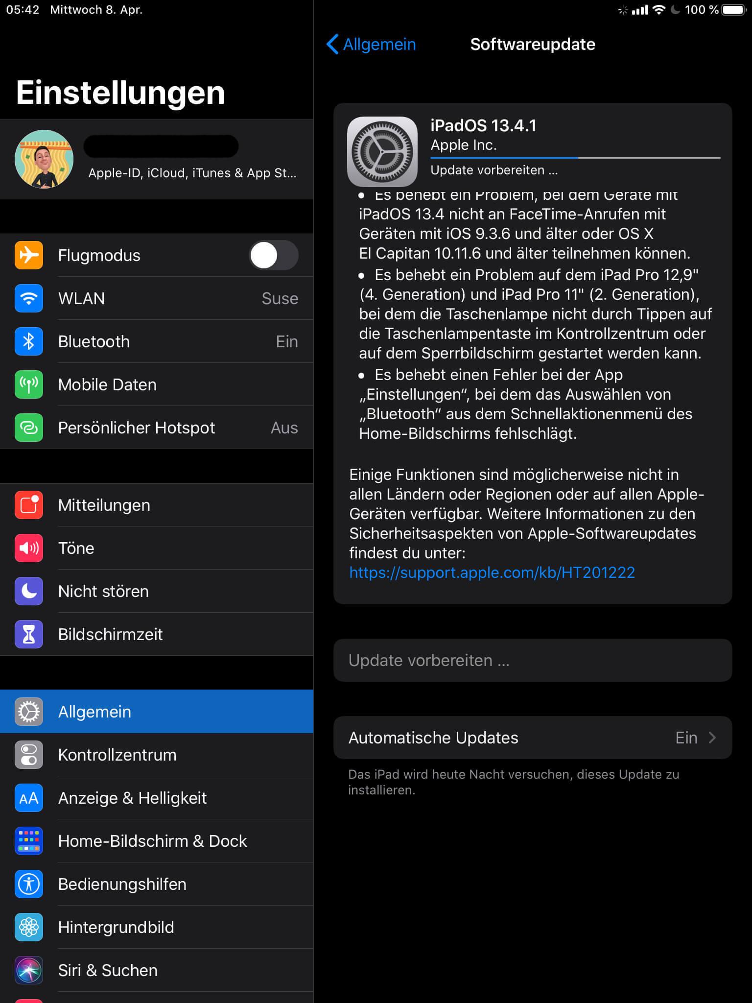 iOS 13.4.1 ist da, FaceTime-Problem ist weg techboys.de • smarte News, auf den Punkt!