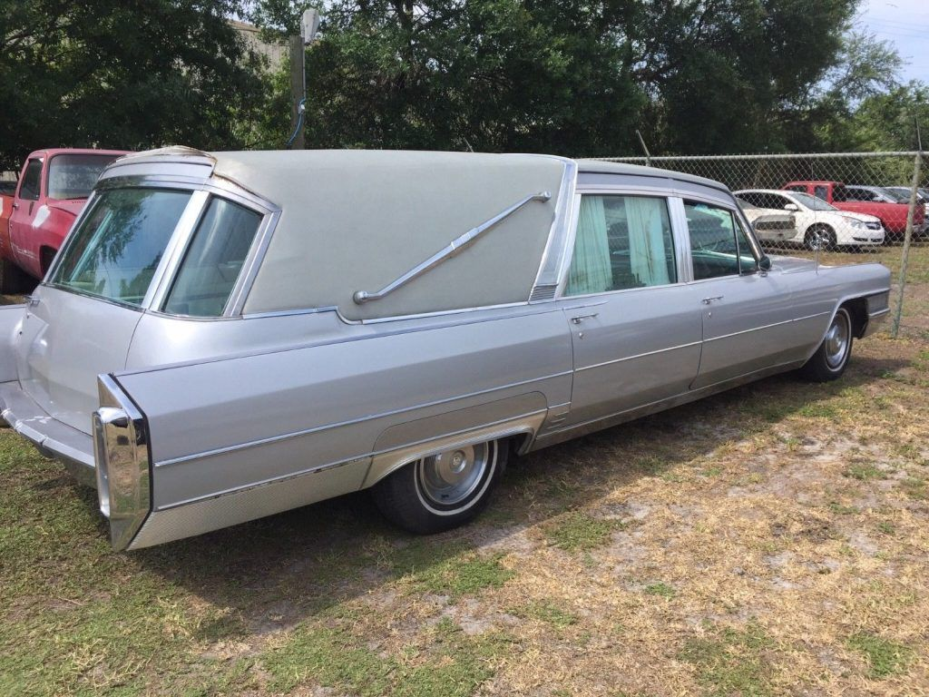 very rare 1965 Cadillac Superior Crown Sovereign Landau Hearse