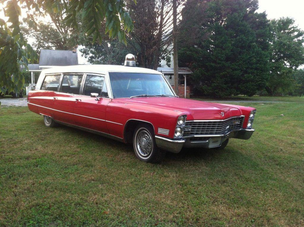 cool 1967 Cadillac Hearse/ambulance Combination hearse