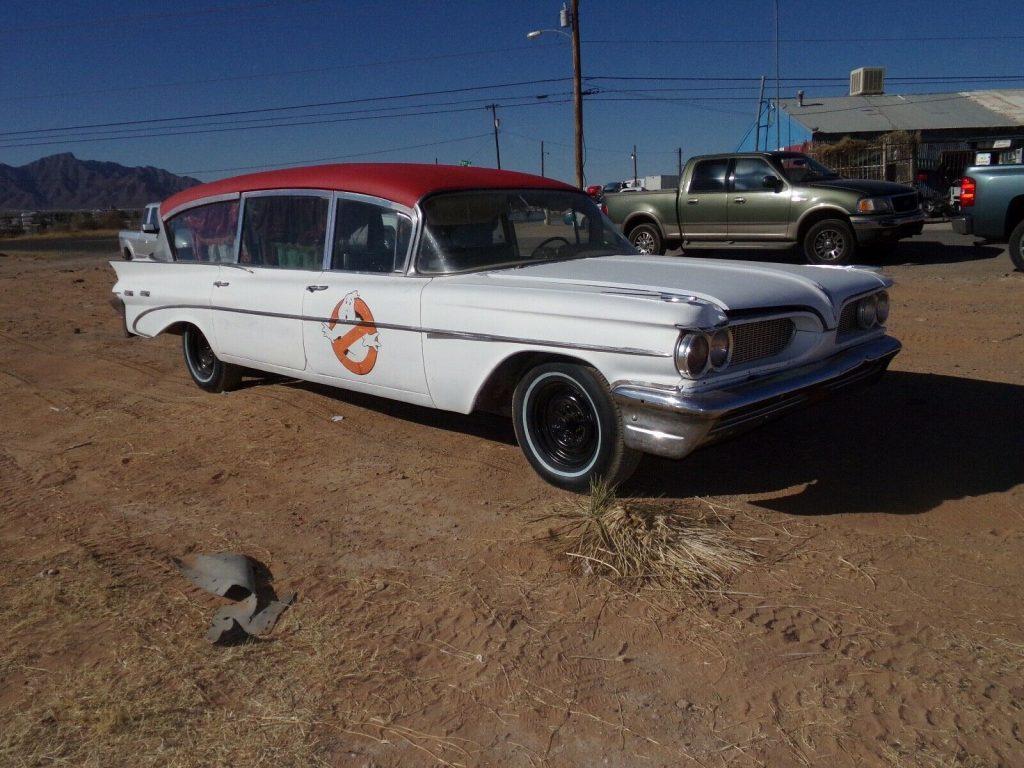 1959 Pontiac Bonneville Hearse [barn find]