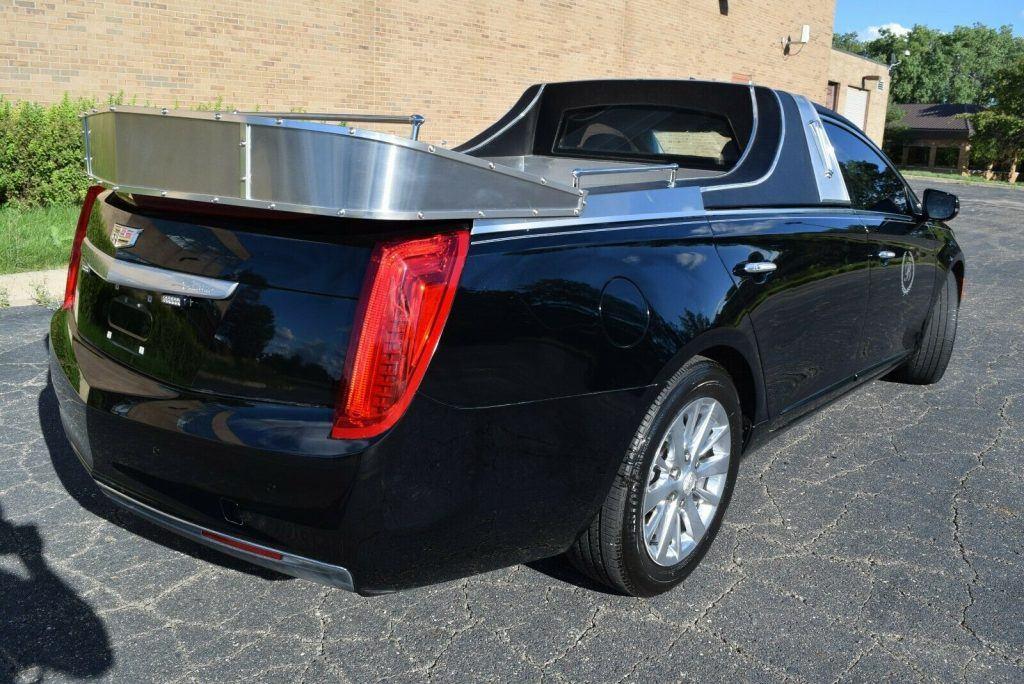 very ncie 2017 Cadillac XTS flower car hearse