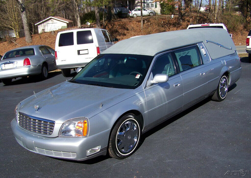 2001 Cadillac Deville Hearse [well kept and garaged]