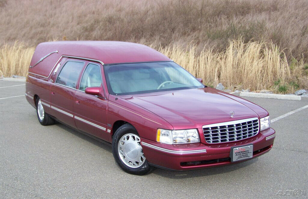 1998 Cadillac Deville Hearse [garaged and pampered]