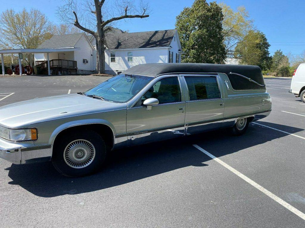 1994 Cadillac Fleetwood Hearse [just serviced]