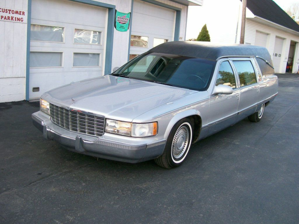 1996 Cadillac Fleetwood hearse [serviced with new parts]