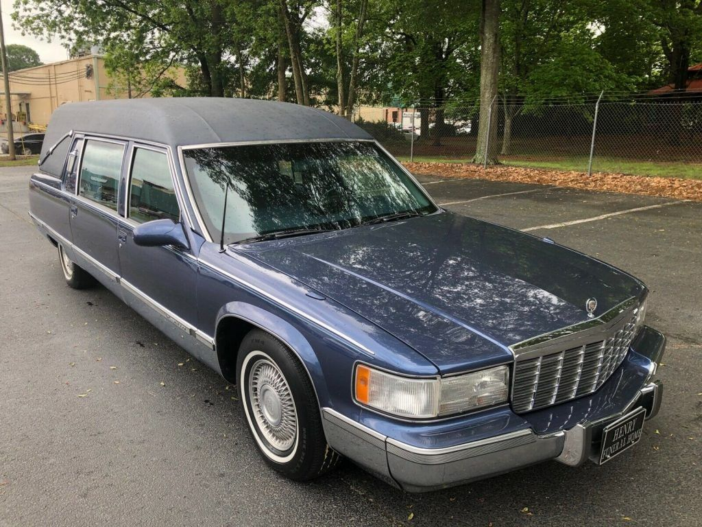 1996 Cadillac Masterpiece Commercial Chassis Hearse [very good condition]