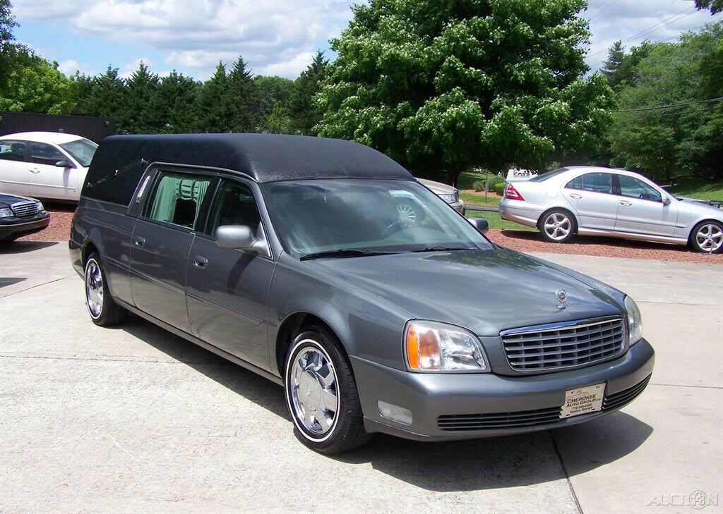 2000 Cadillac Deville Hearse [just out of service]
