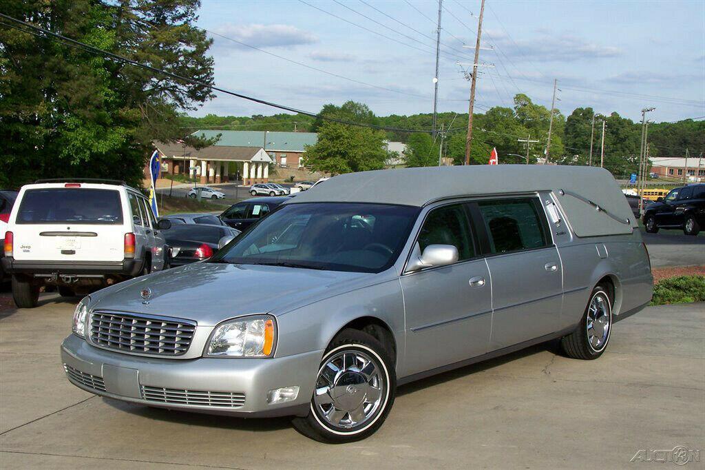 2003 Cadillac Deville Hearse [low miles]