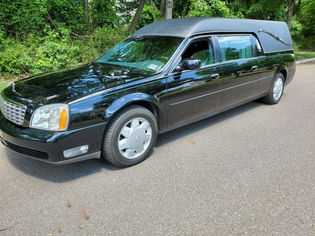 2003 Cadillac DeVille Hearse [Garage Kept Since Day One]