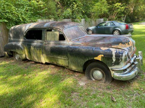 1951 Pontiac Hearse [vintage project] for sale